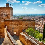 Photo: Alhambra Tower in Granada, Spain is a hot destination for thousand of tourists