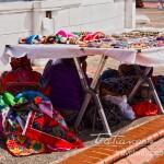 Kuna Vendors Hiding From the Sun in Casco Viejo Panama