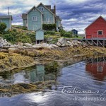 Low Tide at Peggy's Cove